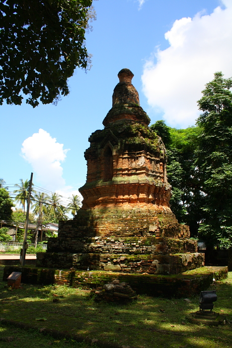 An ancient chedi in Chiang Saen, Thailand