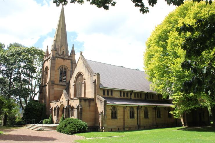 Hoskins Memorial Church in Lithgow, Australia