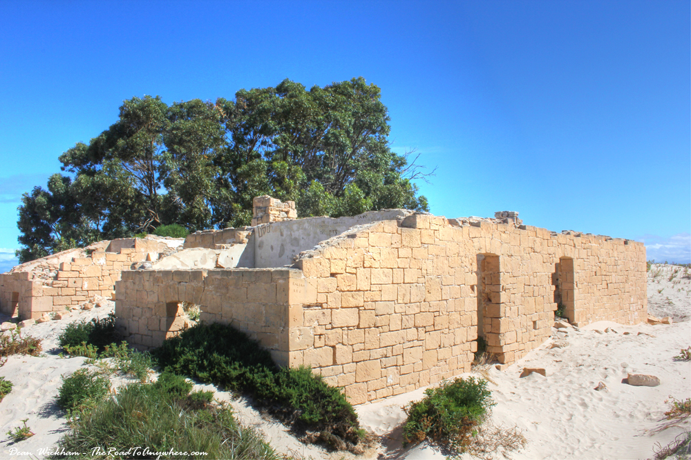 The Old Telegraph Station in Eucla, Western Australia