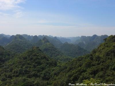 View of Cat Ba National Park, Vietnam