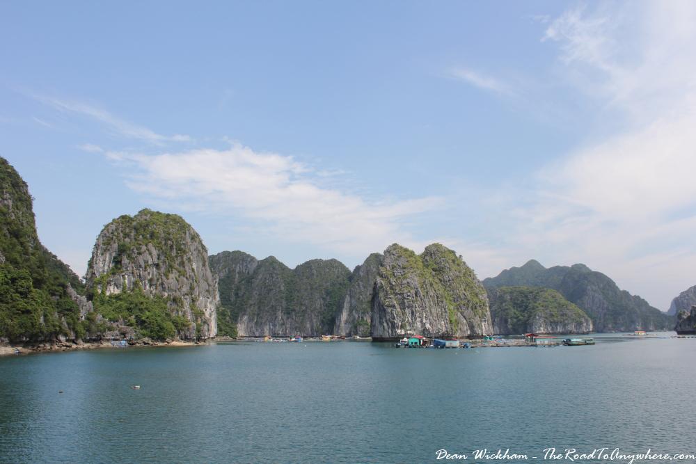 View of in Han La Bay, Vietnam