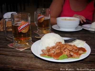 Beef Lok Lak in Kampot, Cambodia