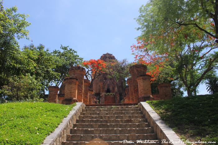 Entrance to Po Nagar in Nha Trang, Vietnam