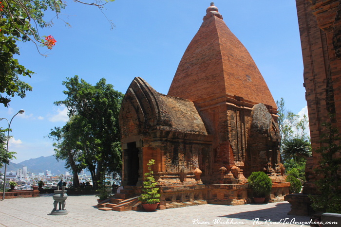 Po Nagar Cham Towers in Nha Trang, Vietnam