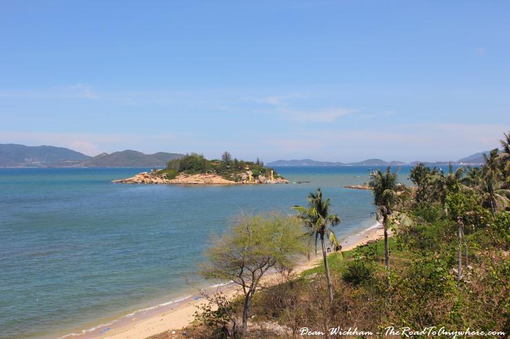 Island View from Hon Chong Promontory in Nha Trang, Vietnam