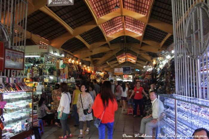 Ben Thanh Market in Saigon, Vietnam
