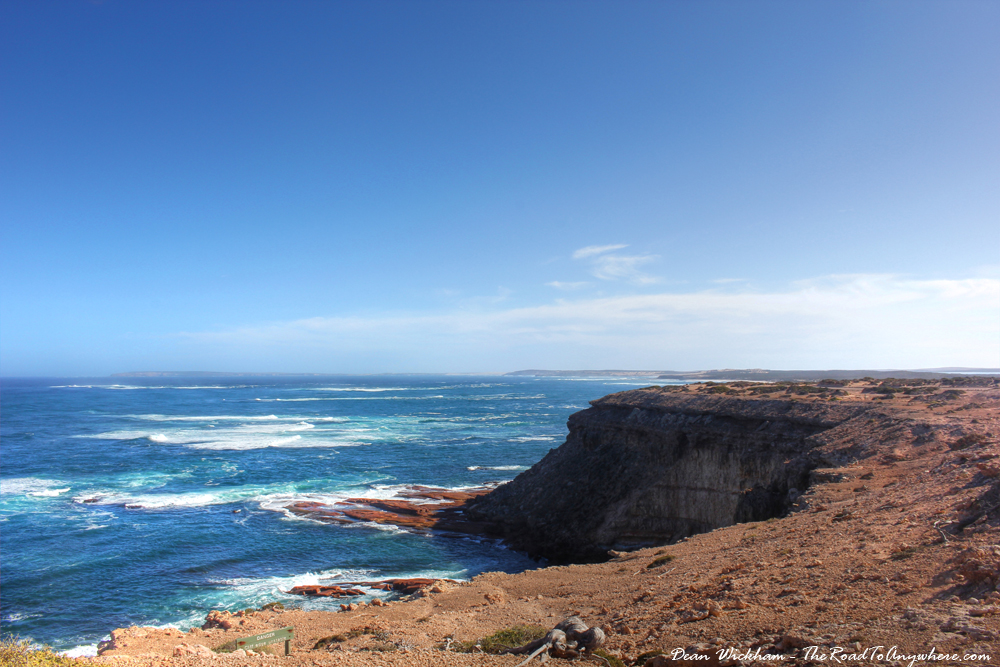 Rugged Coastline at Point Labatt in South Australia