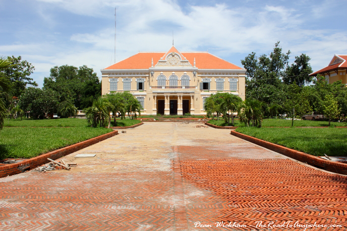 Old Governor's Residence in Battambang, Cambodia