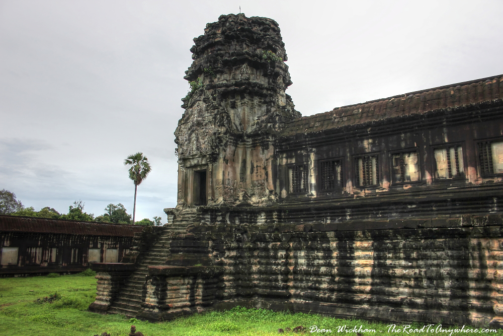 Tower at Angkor Wat, Cambodia