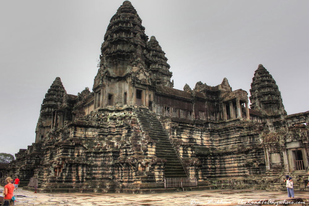 Grand towers at Angkor Wat