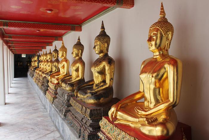 Buddha statues Wat Pho