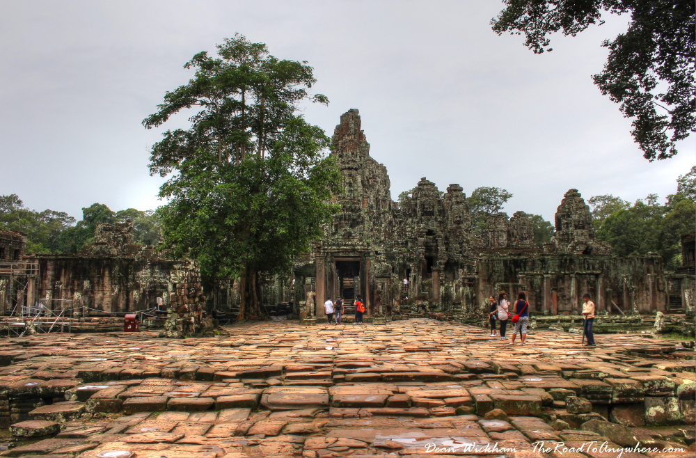 Bayon in Angkor Thom, Cambodia