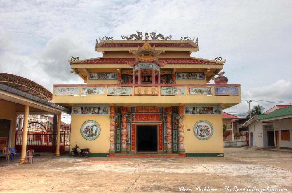 Chinese temple in Savannakhet, Laos