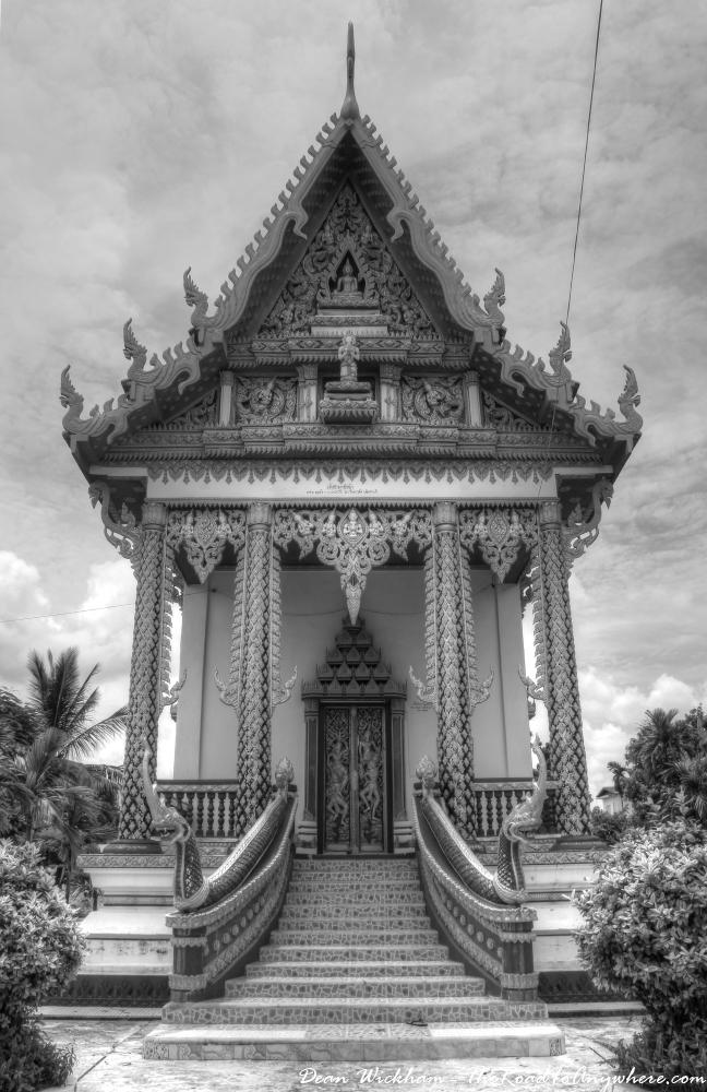 Buddhist temple in Savannakhet, Laos