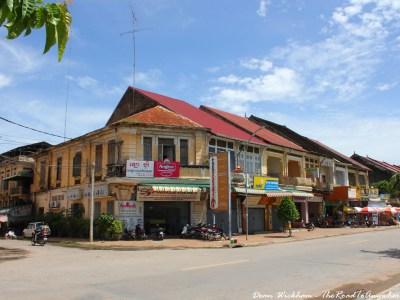 Street corner in Battambang, Cambodia
