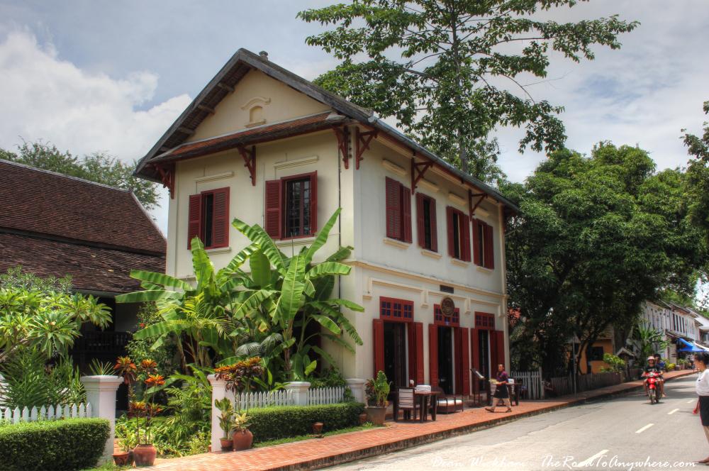 Picturesque restaurant in Luang Prabang, Laos