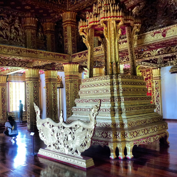 Pha Bang Pedestal in Luang Prabang, Laos