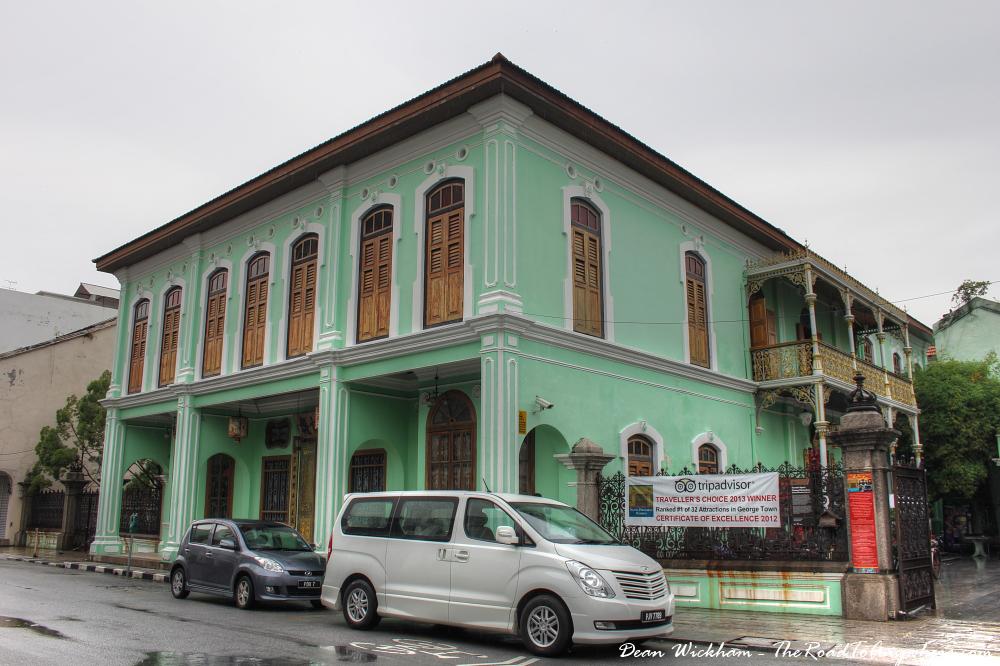 Pinang Peranakan Mansion in George Town, Malaysia