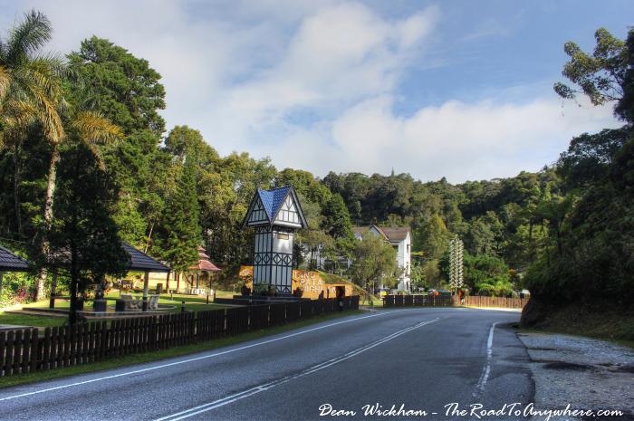 Park in Tanah Rata, Cameron Highlands, Malaysia