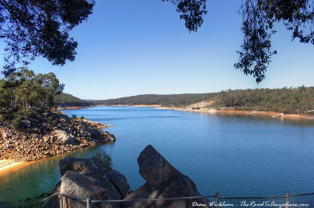 Lake C.Y. O'Connor in Mundaring, Western Australia