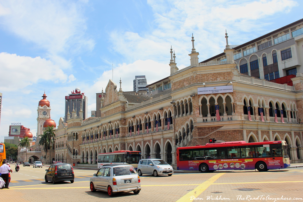 Sultan Abdul Samad Building at Merdeka Square in Kuala Lumpur, Malaysia