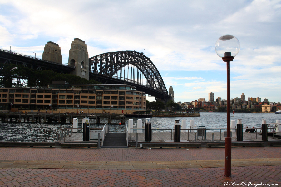 Sydney Harbour Bridge at the Rocks, Sydney