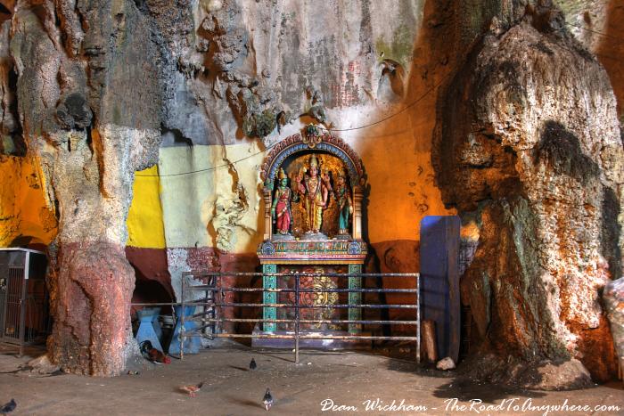 Hindu shrine at Batu Caves in Kuala Lumpur, Malaysia