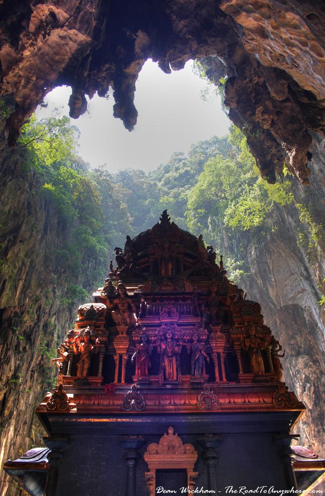 Cave view at Batu Caves in Kuala Lumpur, Malaysia