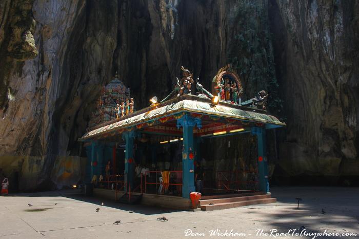 Temple at Batu Caves in Kuala Lumpur, Malaysia