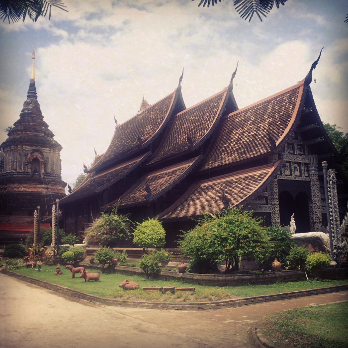 Wat Lok Molee in Chiang Mai, Thailand