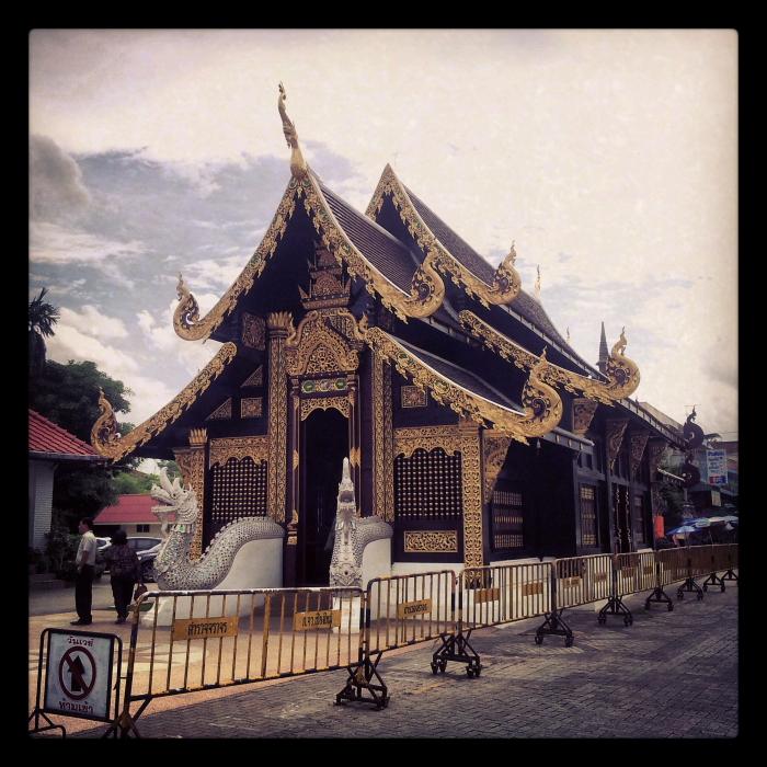 Wat Inthakhin Saduemuang in Chiang Mai, Thailand