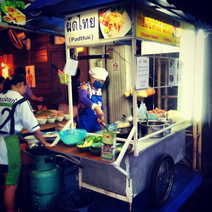 Aroi Dee restaurant in Chiang Mai, Thailand