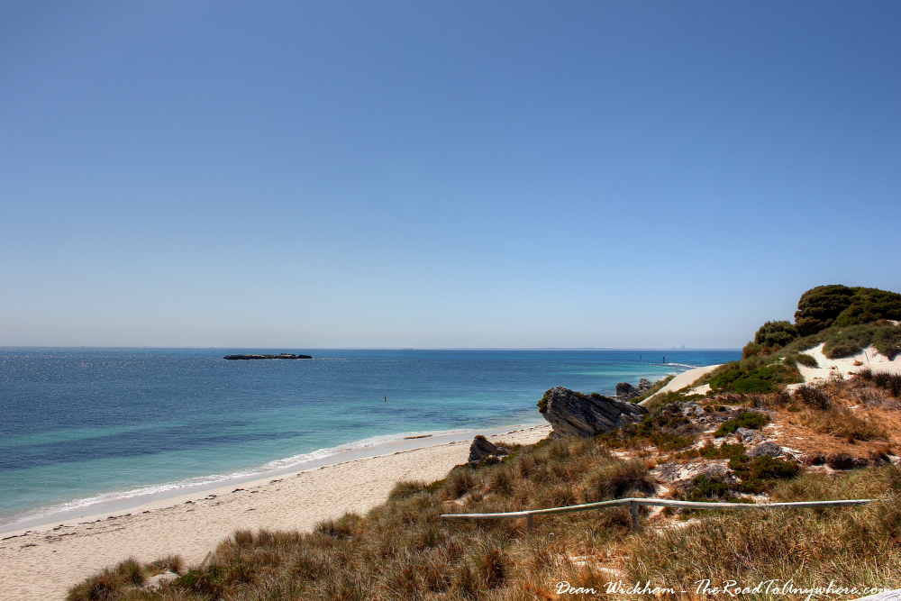 Beach at Bickley Bay on Rottnest Island, Western Australia