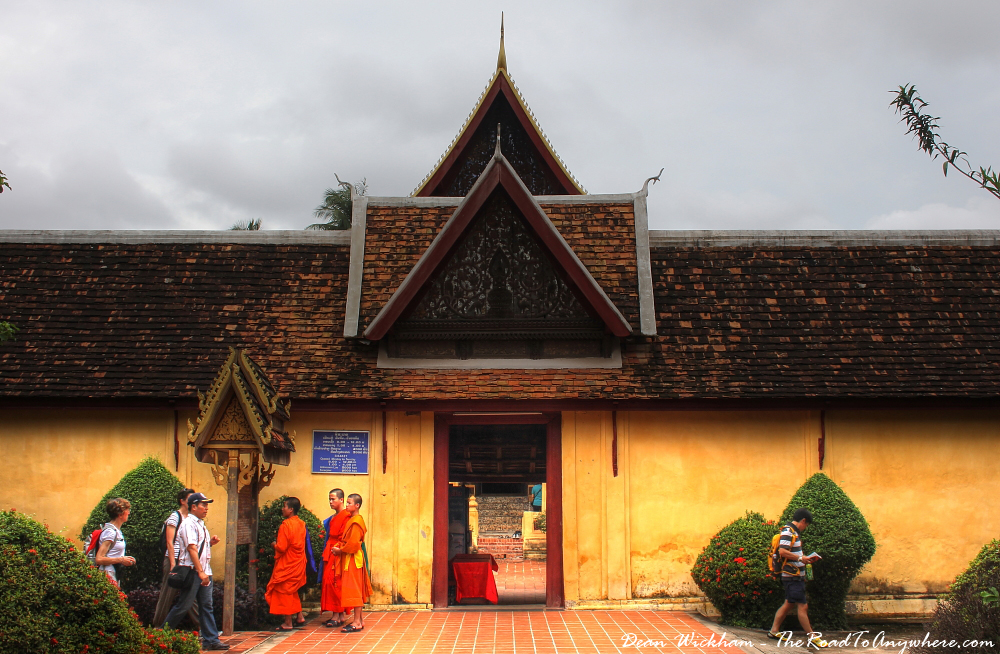Entrance to Wat Si Saket in Vientiane, Laos