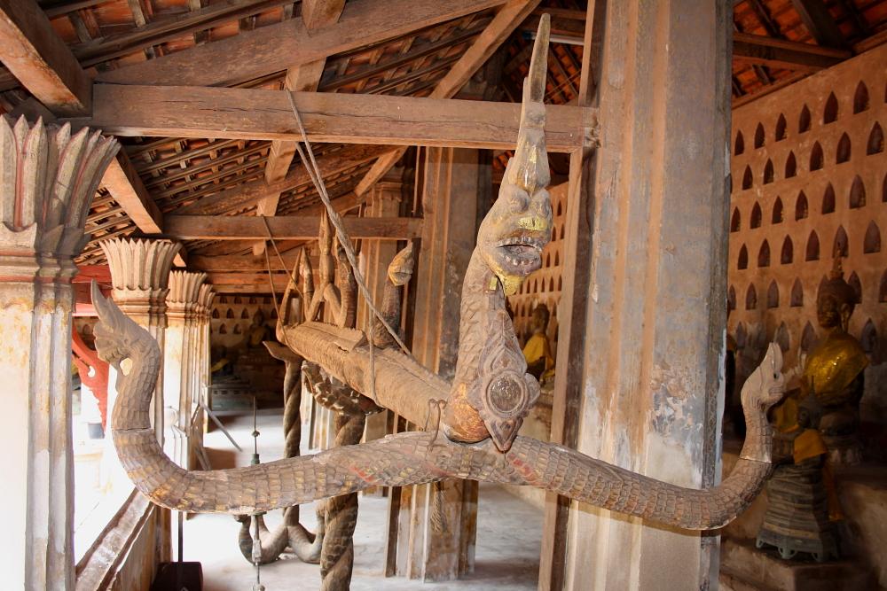 A Hang Hod at Wat Si Saket in Vientiane, Laos