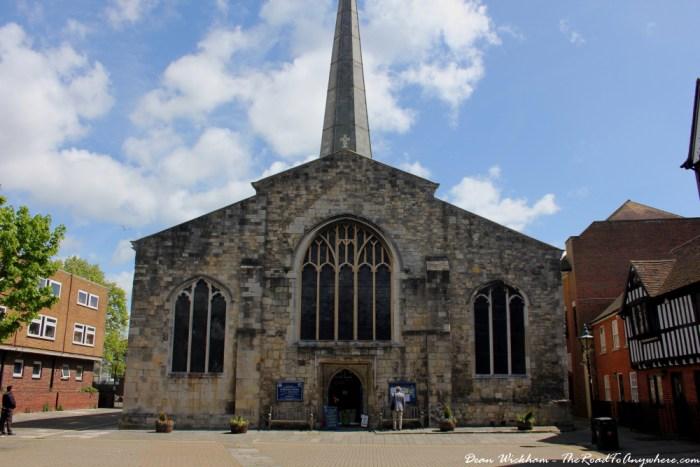 St Michael's Church in Southampton, England