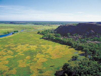Kakadu escarpment in Australia