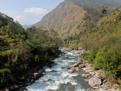 The Likhu Khola in Kinja, Nepal