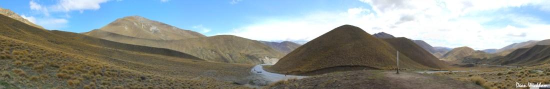 Lindis Pass, New Zealand