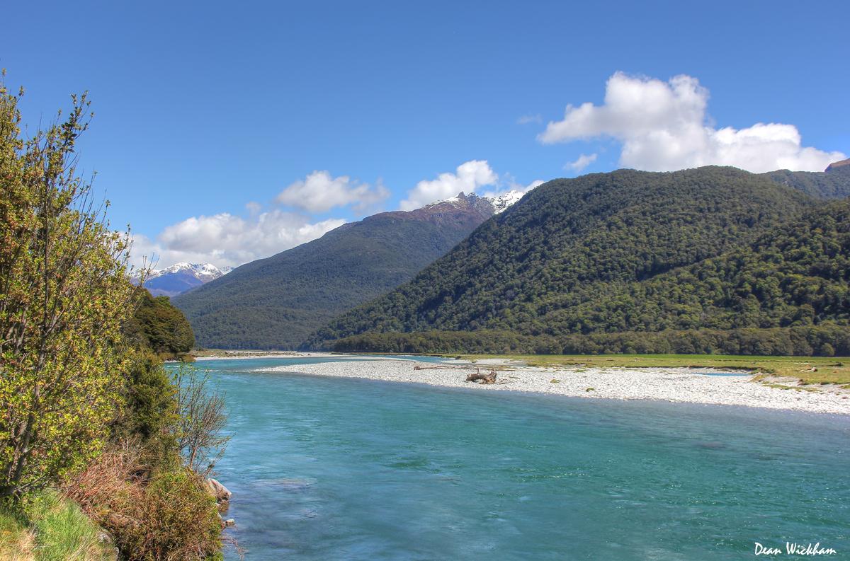 Makarora River, New Zealand