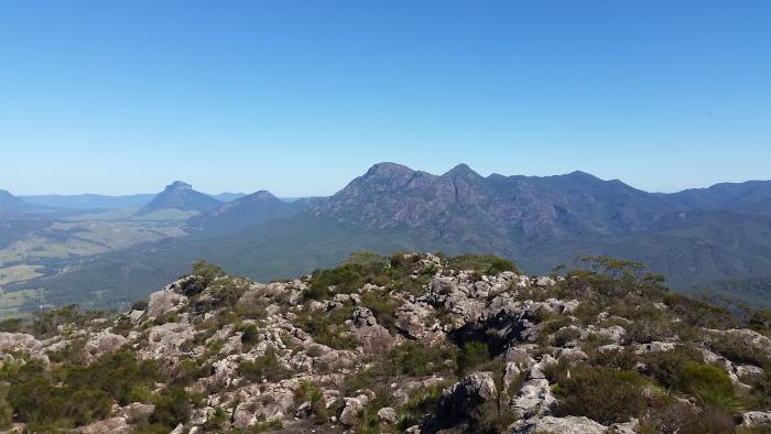Climbing Mount Maroon