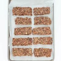 Homemade Quinoa Cherry Granola Bars