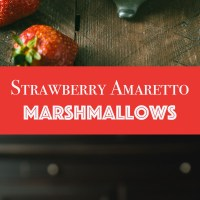 Strawberry Amaretto Marshmallows