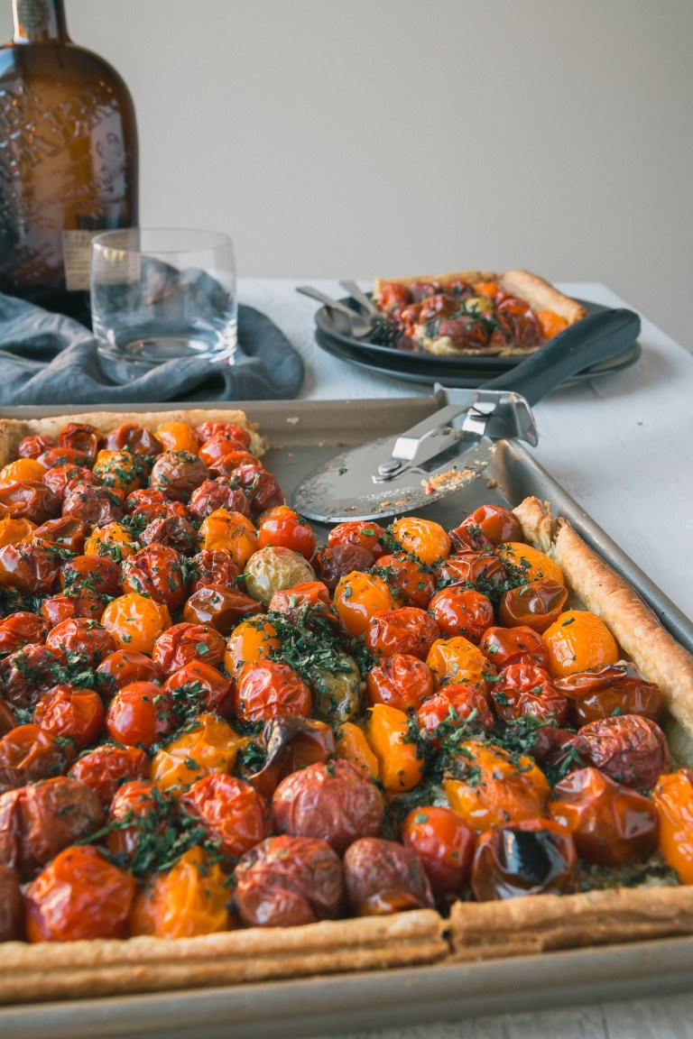 The Road to Honey's Most Popular Recipes of 2016 - Puff Pastry Tomato Tart