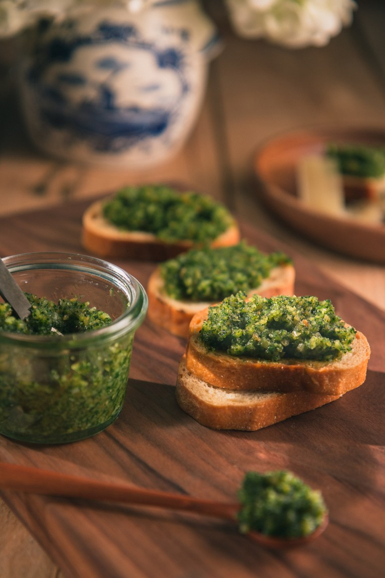 The Road to Honey's Most Popular Recipes of 2016 - Traditional Basil Pesto