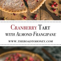 Cranberry Tart with Almond Frangipane