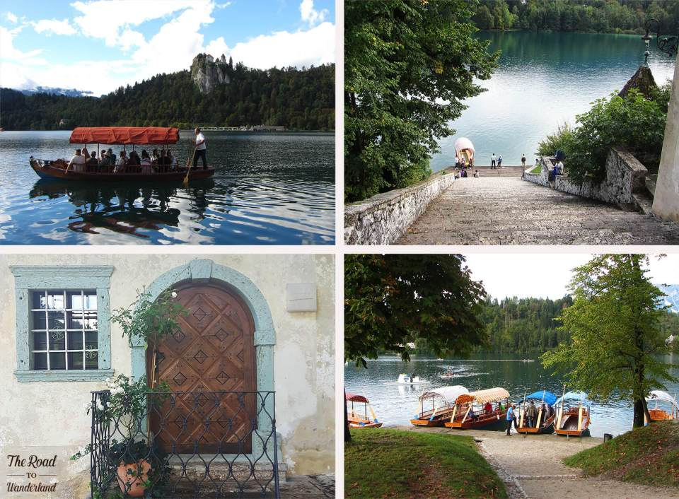 Four pictures from my visit to Bled Island, Lake Bled