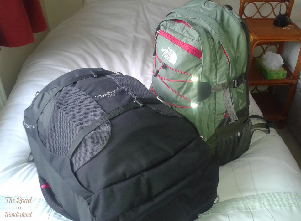 My trusty nomad packs