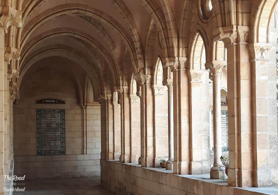 The cloisters at the Church of the Pater Noster, Jerusalem