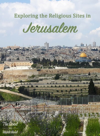 Exploring the Religious Sites in Jerusalem Pin